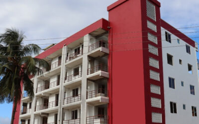 Hand over of low budget Studio Apartments in Mtwapa amidst COVID 19 and off-plan scandals that have affected developers across Kenya.